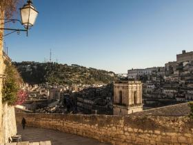 view of the city centre of Modica