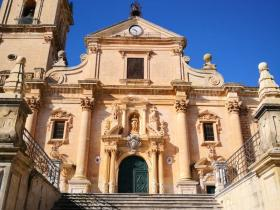 Cathedral of San Giovanni in the city centre of Ragusa